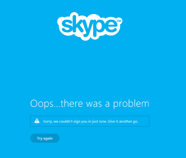 Fixing Skype problems with Win10 9860 technical preview 1