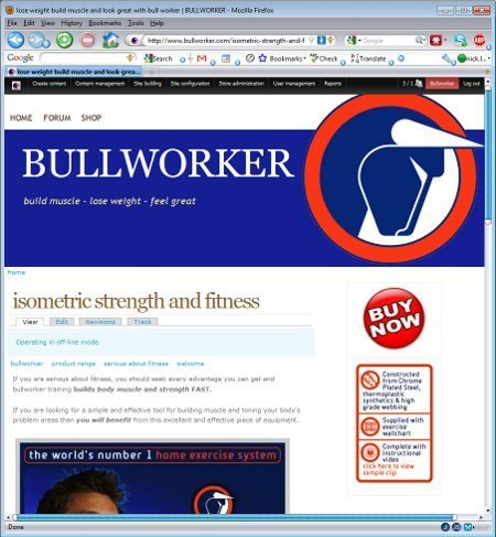 Bullworker - isometric strength and fitness 1