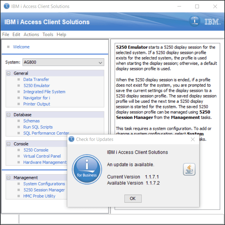 How to Update IBM i ACS Access Client Solutions - Nick