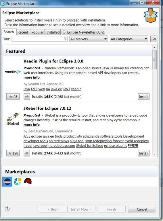 JSON tool on Rdi Marketplace