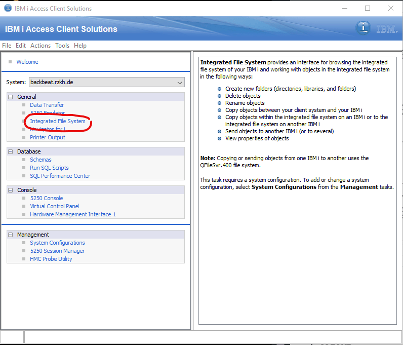 Upload a SAVF using IFS and IBM i Access Client Solutions (no FTP) 1