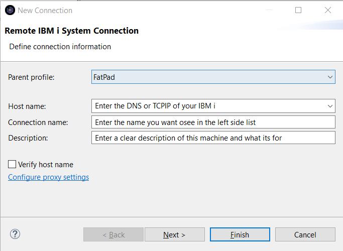 Step 4 – Run RDi 9.6 1