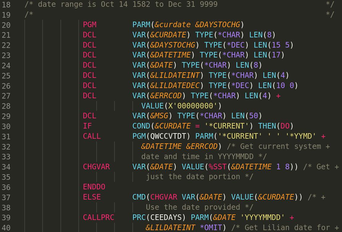 simple cl program