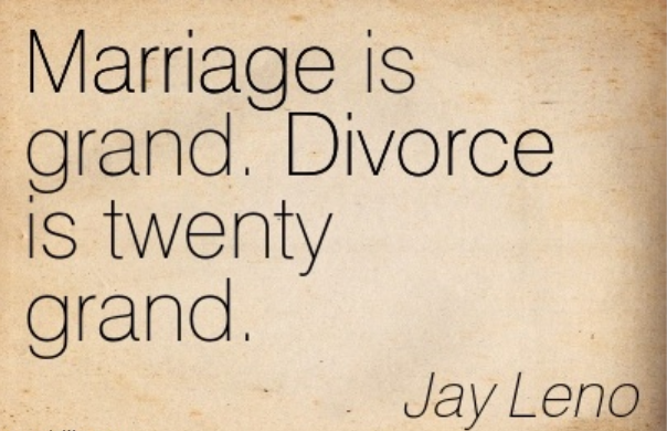 divorce is twenty grand