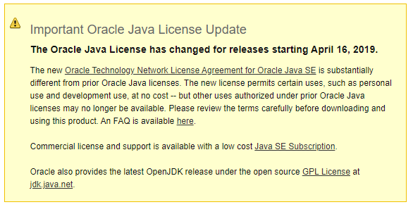 I need more Java! AdoptOpenJDK to the rescue :) 1