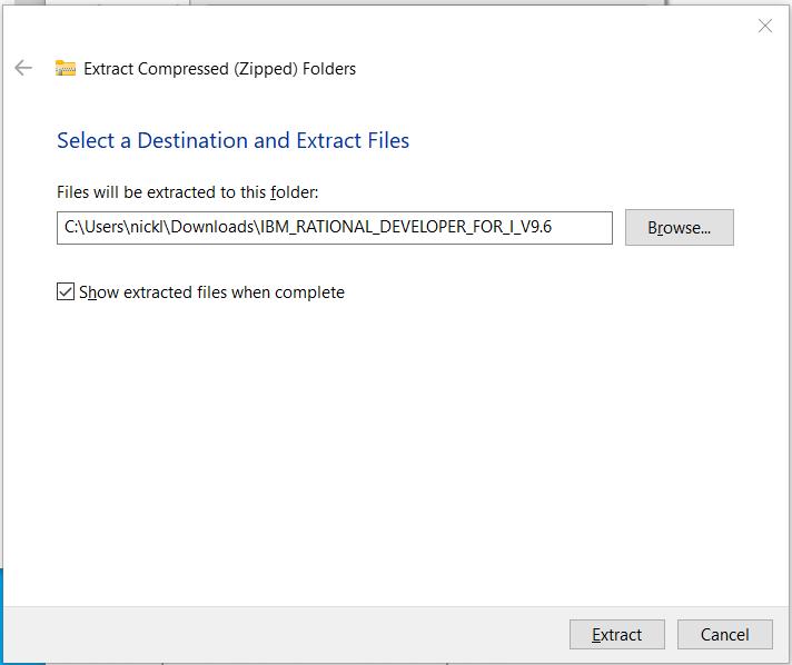 Step 2 – Download Rational Developer for IBM i (RDi) 2