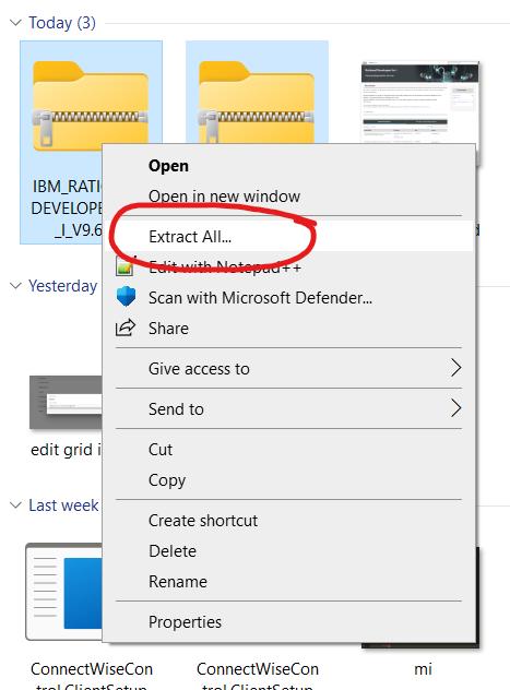 Step 2 – Download Rational Developer for IBM i (RDi) 1