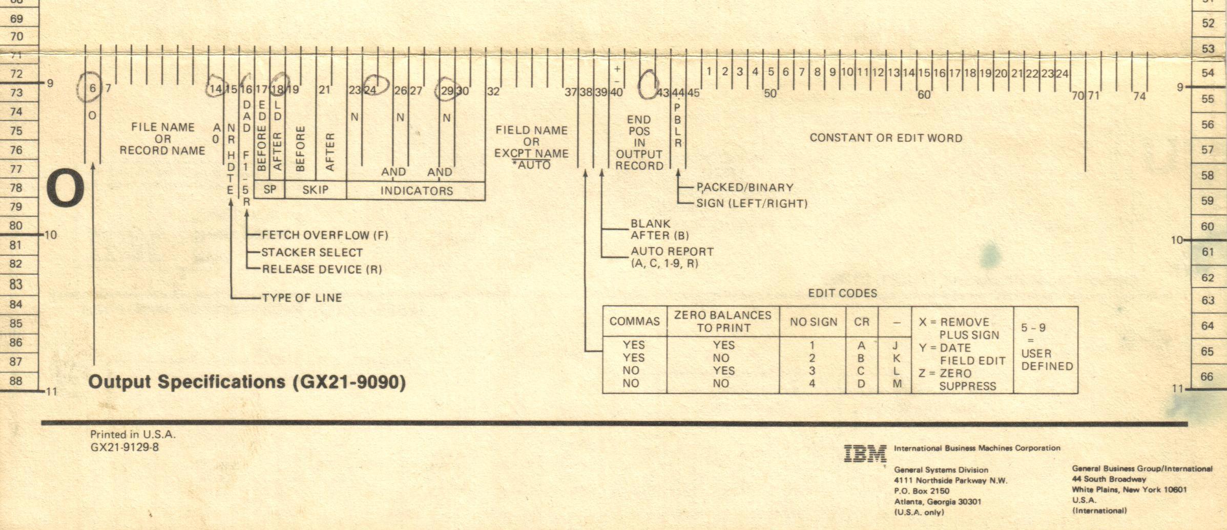 A brief history of the IBM RPG Programming Language 1