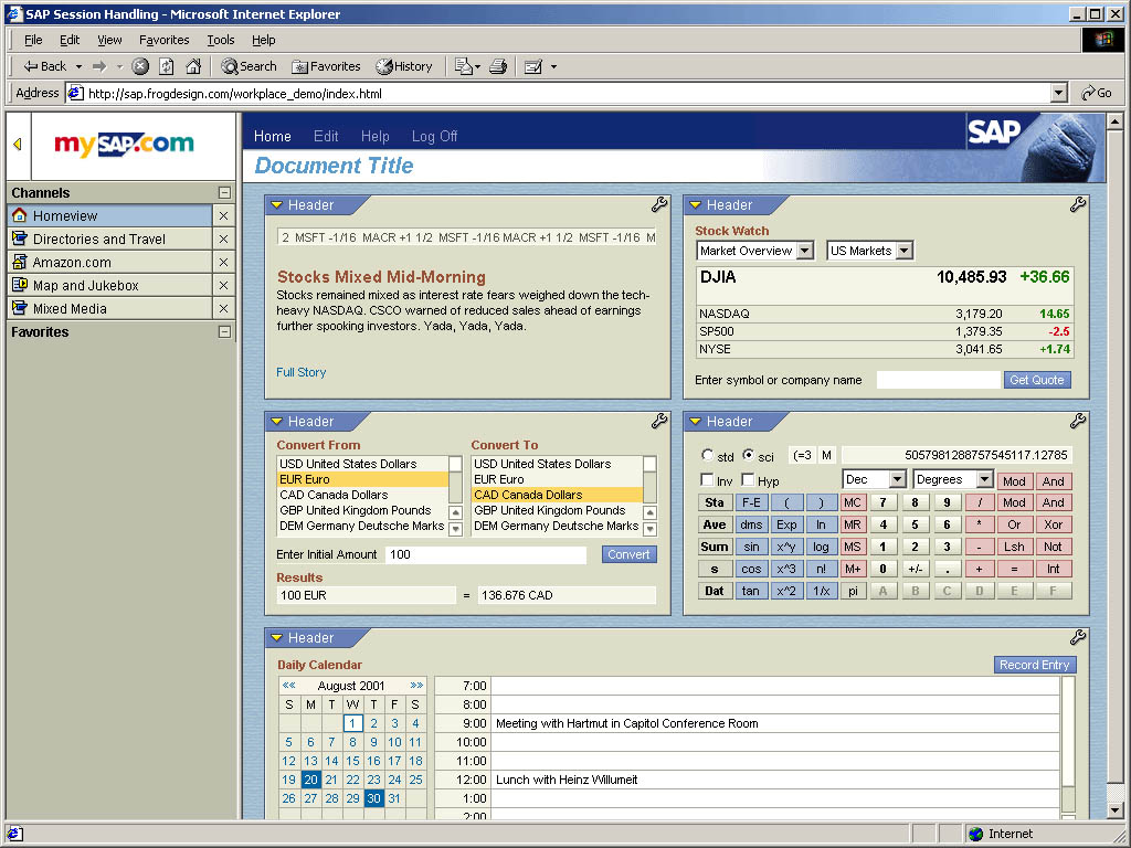 A Client is looking to switch to SAP from JBA 2