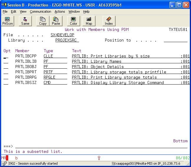 PDM user defined options